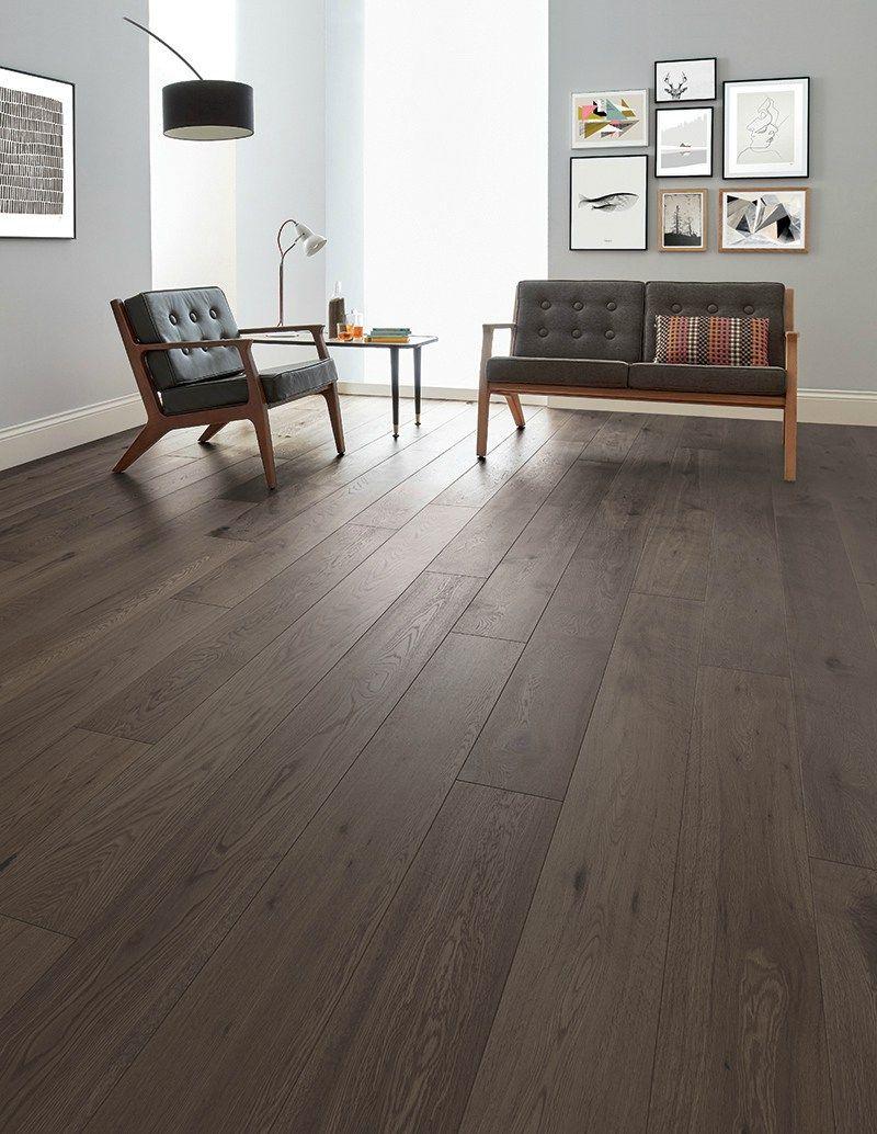 Spring Series With Woodpecker Flooring Dark Floors Engineered Wood Floors Light Oak Furniture Living Room Wood Floor