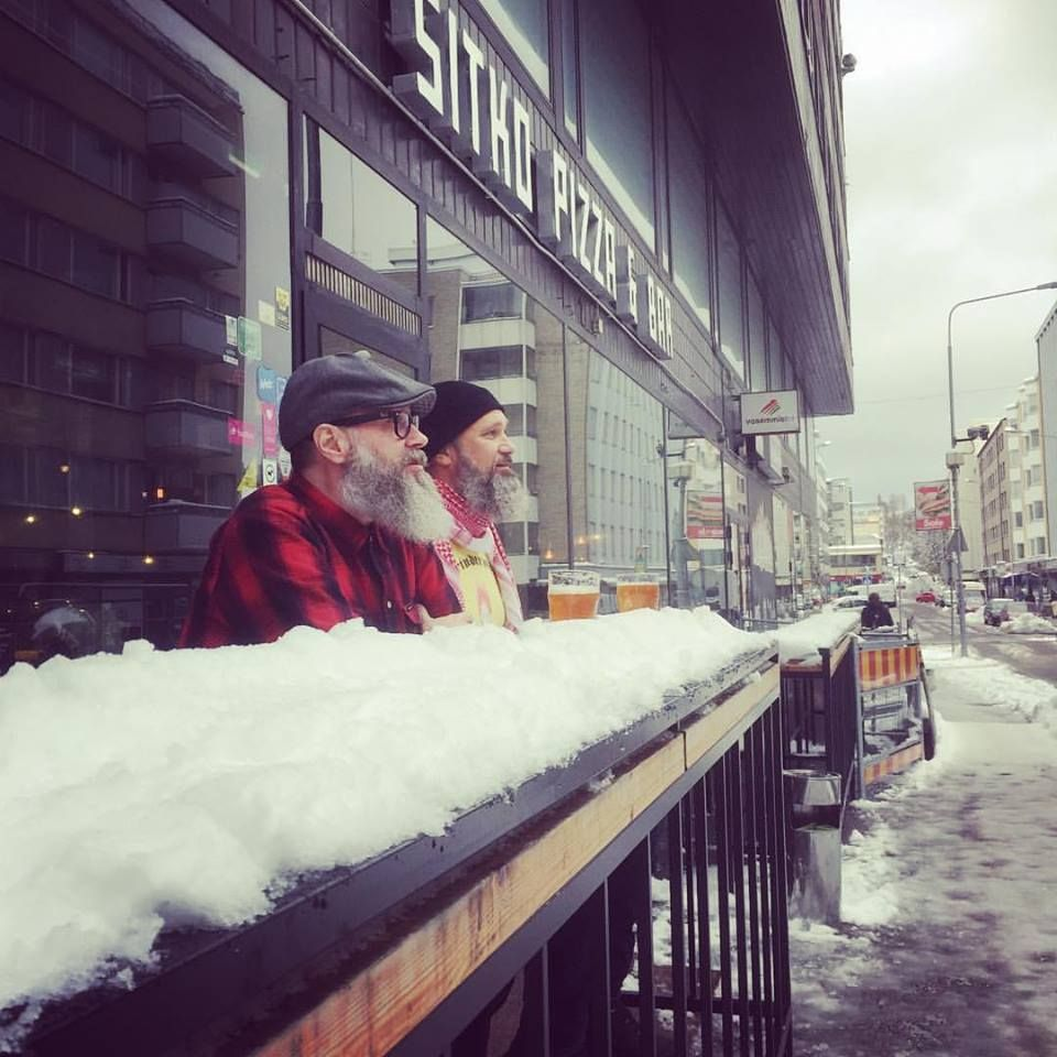 Perfect Terrace Weather In Finland Is One That Keeps Your Beer Cold