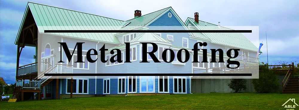 Metal Roofing In Powell Ohio Roofing Metal Roof Modern Roofing