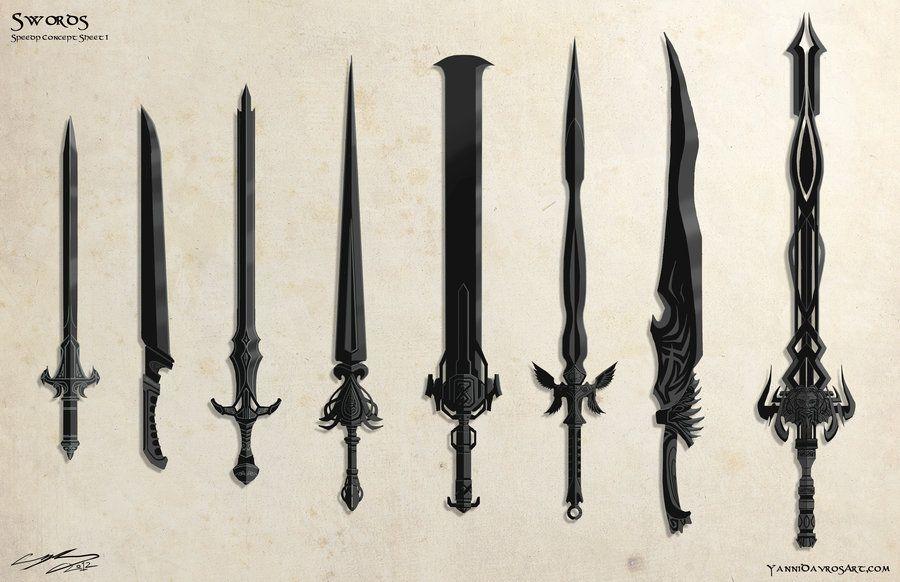 Unique Fantasy Swords