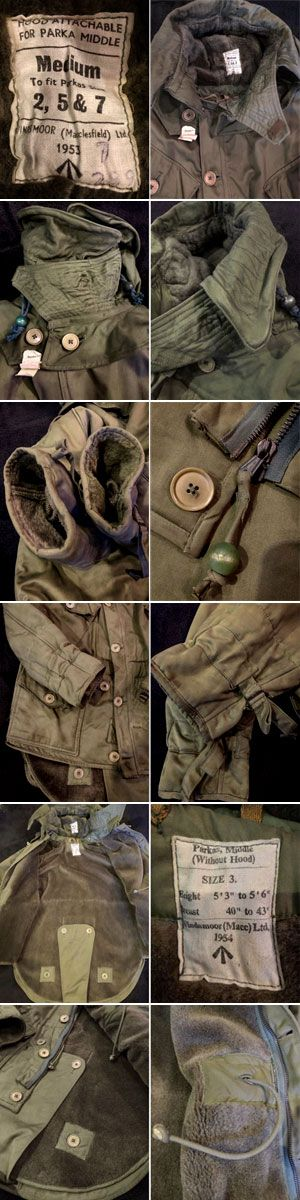1950's BRITISH ARMY (RAF) HEAVY WEATHER AVIATOR COAT (LONG