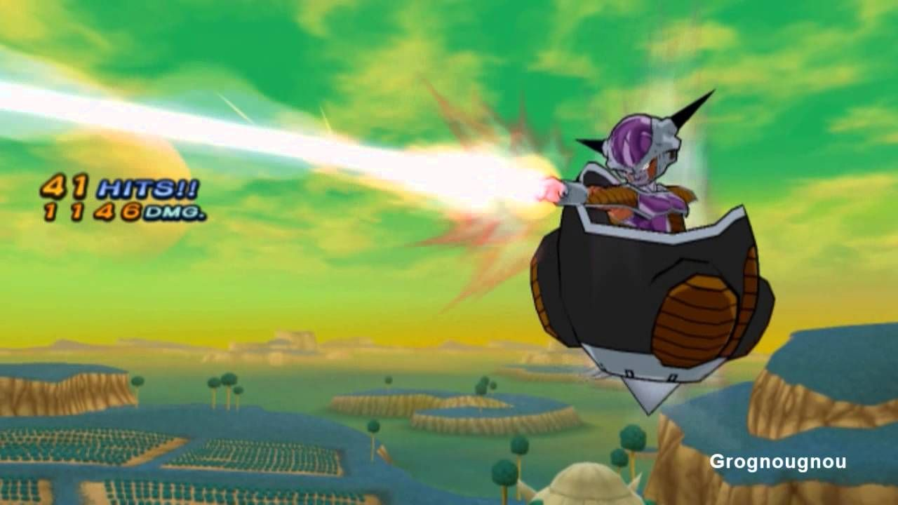 Freezer In His Monoplace Vessel Fights Vegeta Scouter On Namek And The Saiyan Prince Transforms Into A Super Saiyan Super Saiyan Dragon Ball Z Saiyan Prince