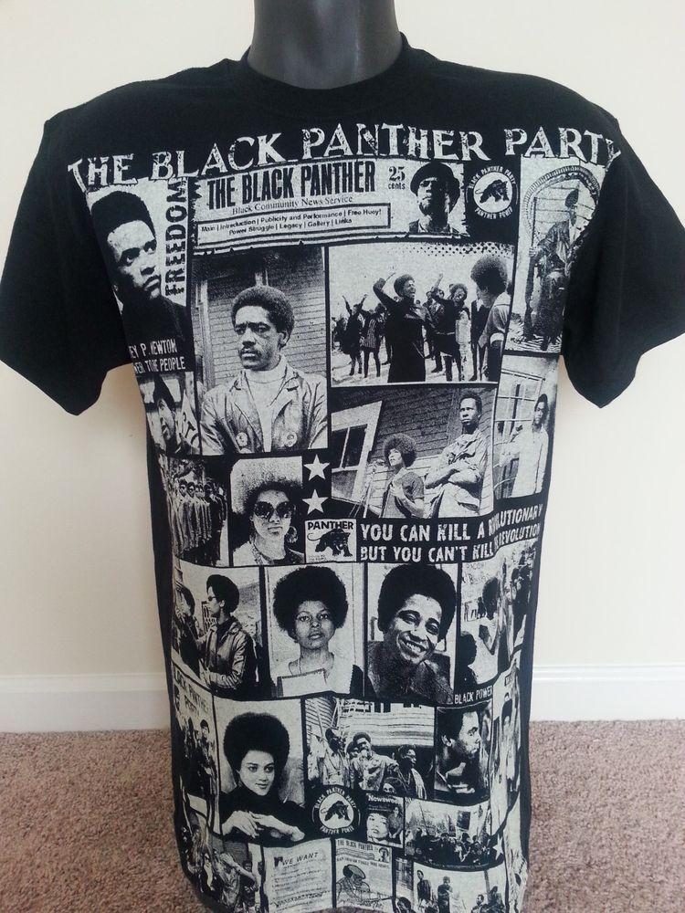 Huey P. Newton sublimation T shirt zSVt4IqAb
