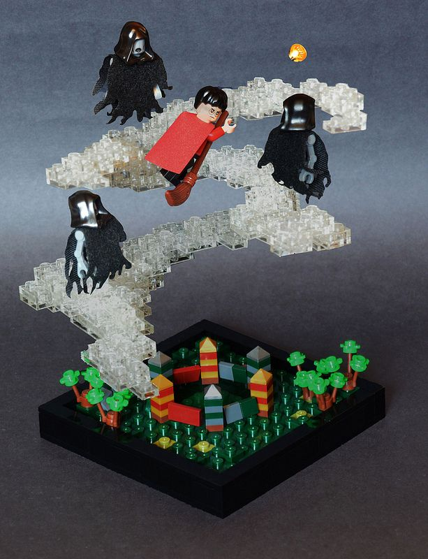 Lego Scenes From Harry Potter And The Prisoner Of Azkaban Awesome