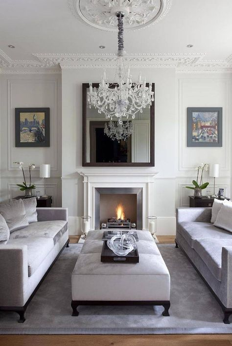 Stylish sitting room   Living Room   Pinterest   Sitting rooms, Room ...