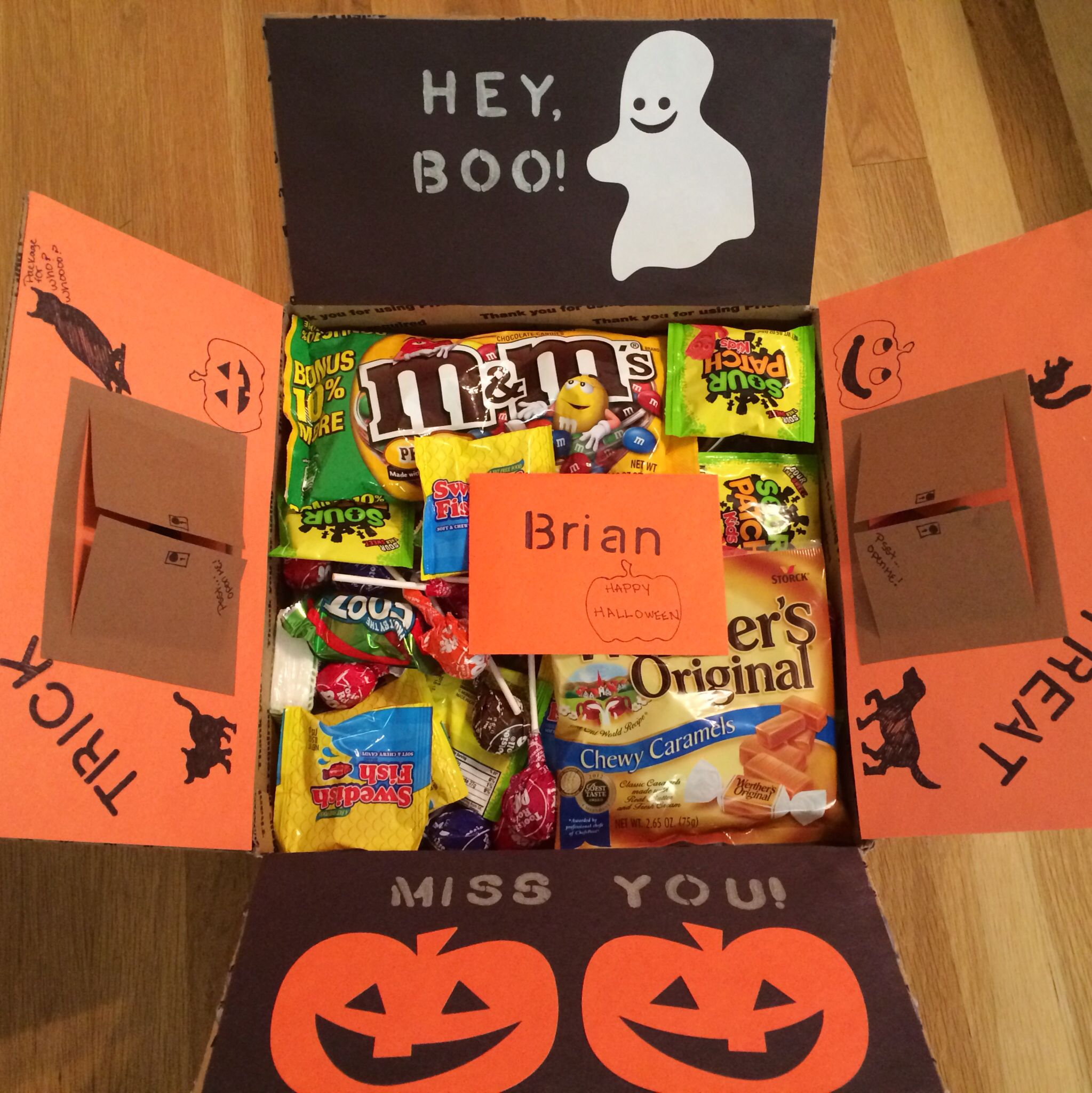 Halloween deployment care package for your favorite sailor