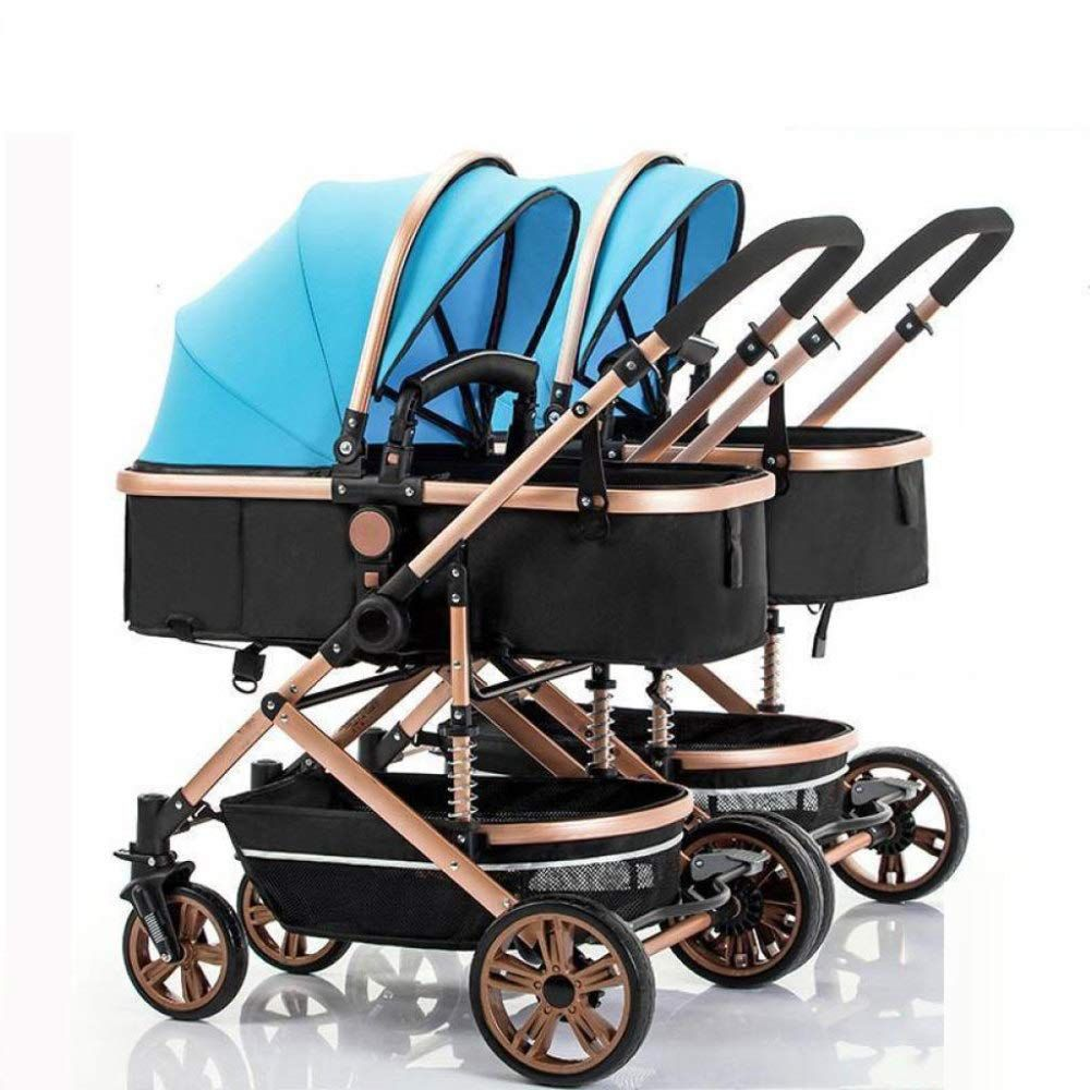 Travel Buggy With Sunroof Ghh Double Strollers Baby Pram Tandem Buggy Newborn