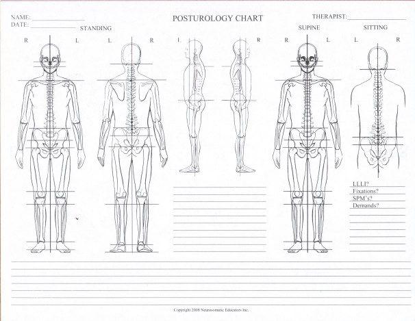 Posturology Chart Blank