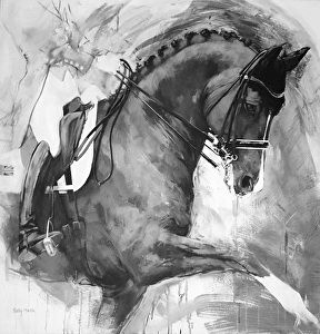 Equine Art by sally Martin