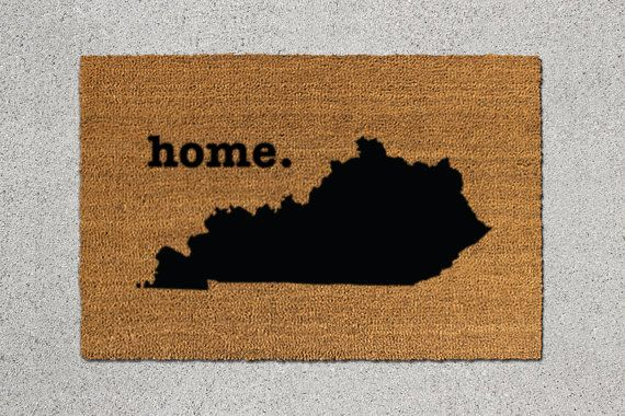 Kentucky Doormat, Kentucky Door Mat, Kentucky Welcome Mat, Kentucky State Doormat, Doormat, Door Mat, State Doormat, Welcome Mat, Kentucky