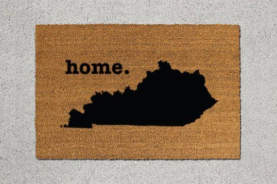 Kentucky Doormat, Kentucky Door Mat, Kentucky Welcome Mat, Kentucky State Doormat, Doormat, Door Mat, State Doormat, Welcome Mat, Kentucky