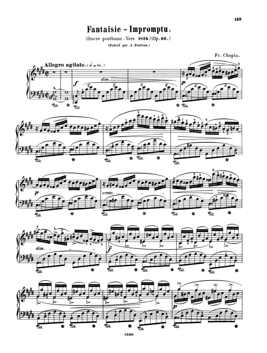 Beginner Piano Lessons Fantasie Impromptu Op 66 Piano By