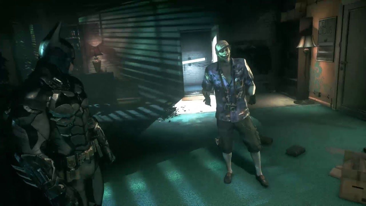 The Jocker Tries To Kill Oracle And Paralyzed Her Batman Arkham