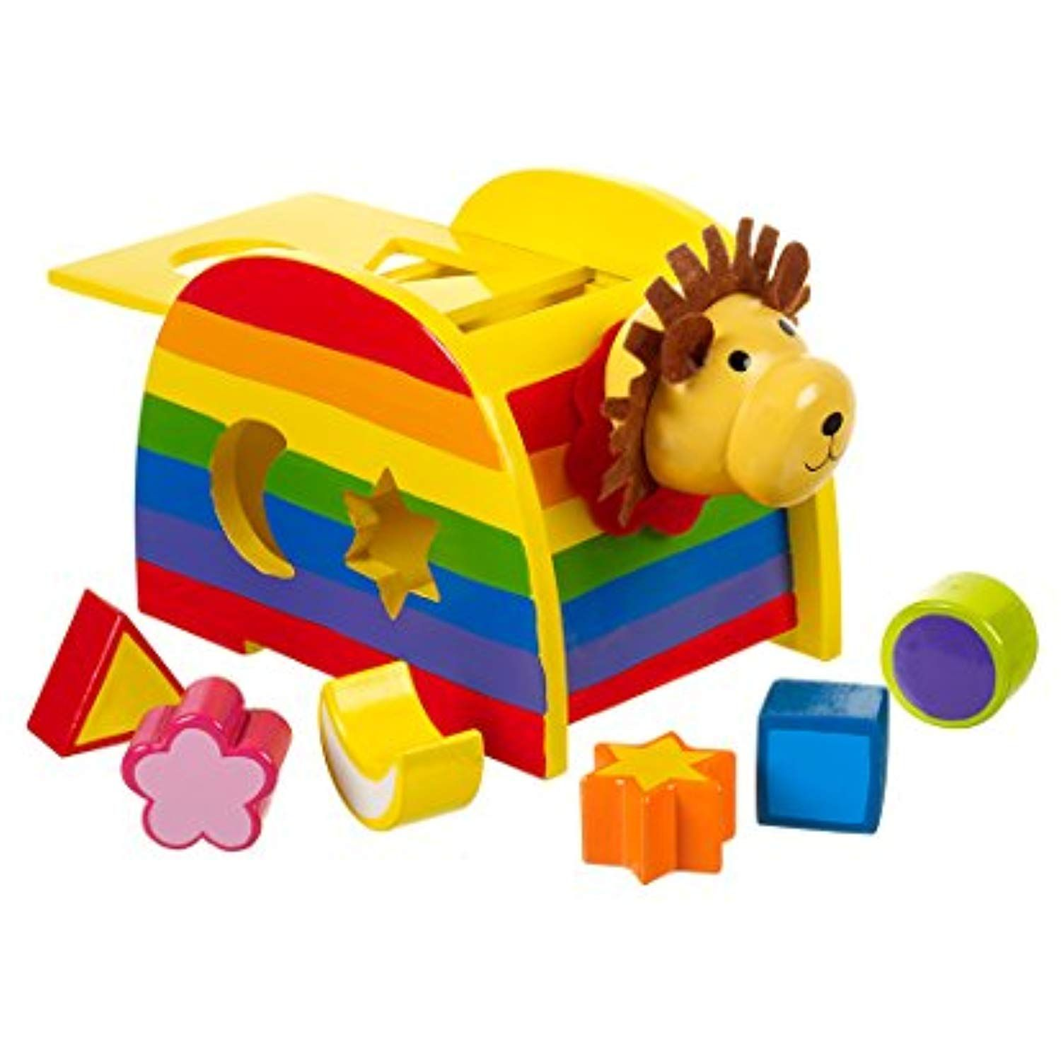 Orange Tree Toys Shape Sorter Lion Want To Know More