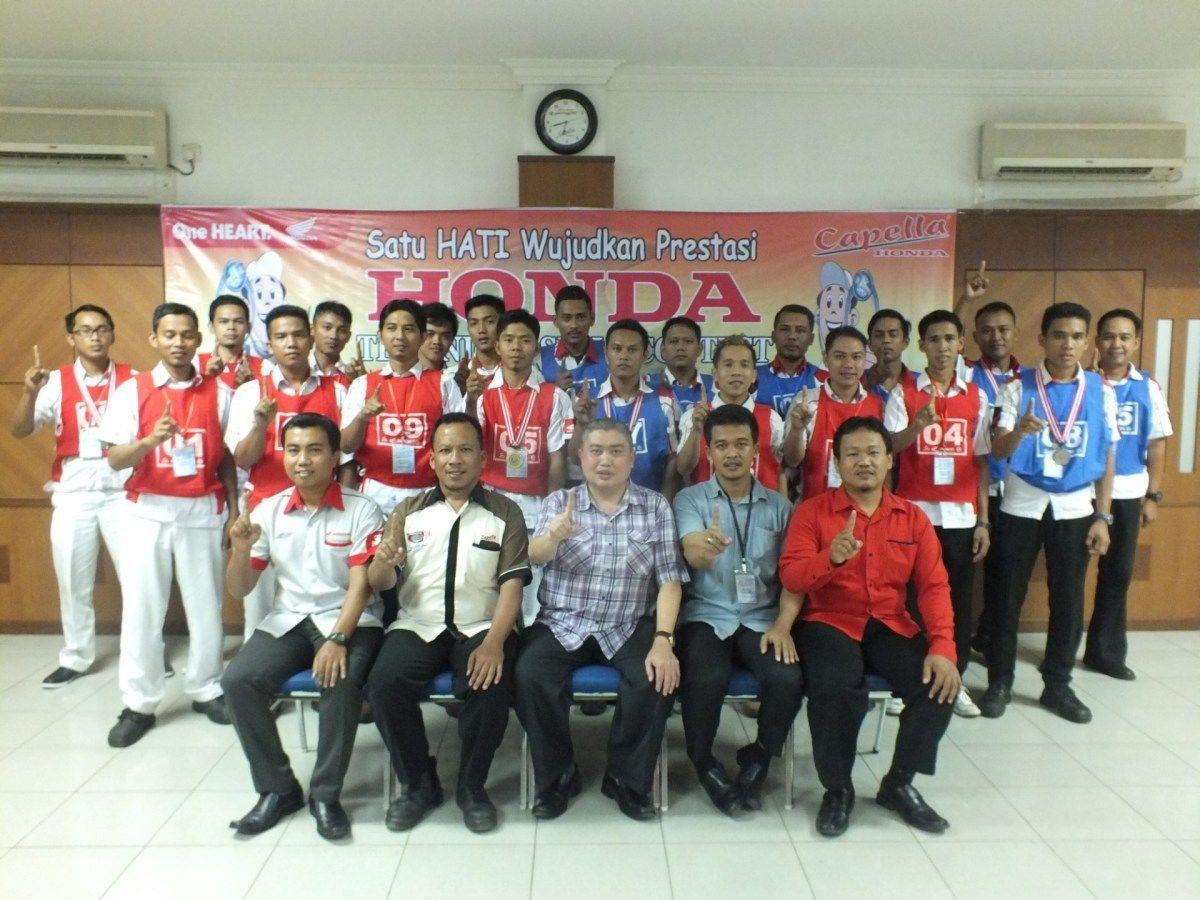 Capella Honda Gelar Technical Skill Contest Regional Kepulauan Riau Tahun 2017