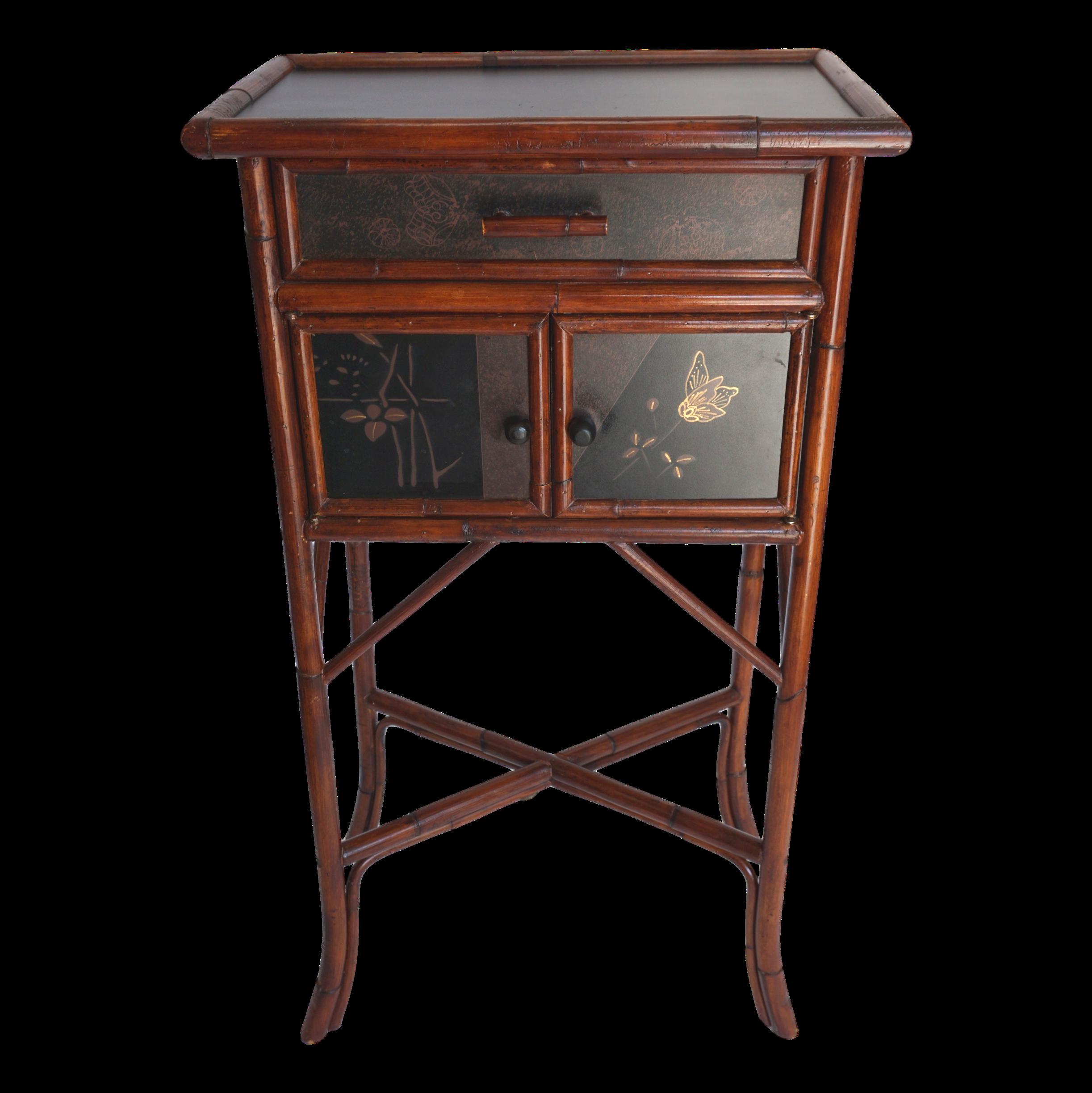 Terrific Vintage Palecek Small Bamboo End Table Ethnic Decor For Interior Design Ideas Tzicisoteloinfo