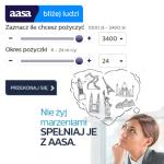 Pożyczka Aasa Kredyt jest dostępna w wysokoścido 3400 zł na okres 24m-cy. Jest ona udzielana dla osób do 80 roku życia, na dowód, bez zaświadczeń o dochodach. Kredyt Aasa jest oferowany z niskim oprocentowaniem 10% co stanowi ewenement wśród parabanków.Tytułem wstępu warto