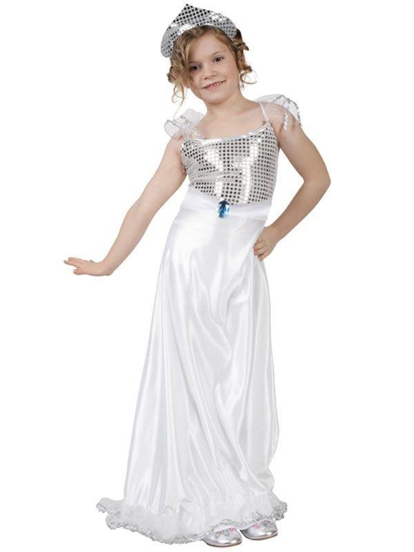 Sne prinsesse kjole