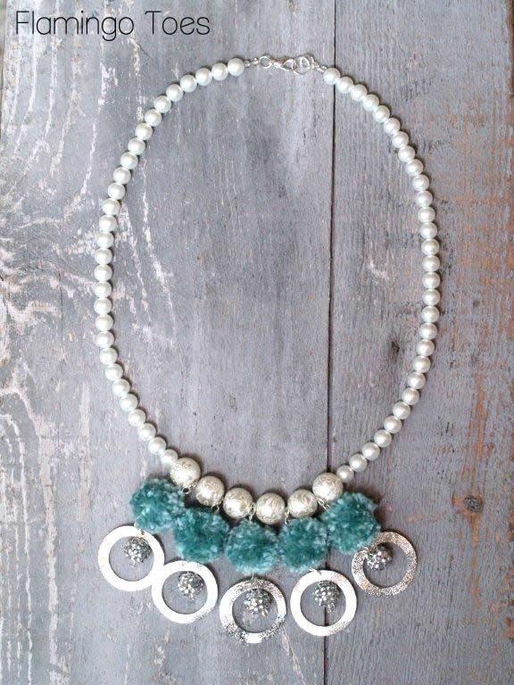 DIY Wire Necklace : DIY Pompearl Necklace Knockoff - Jewelry Week ...