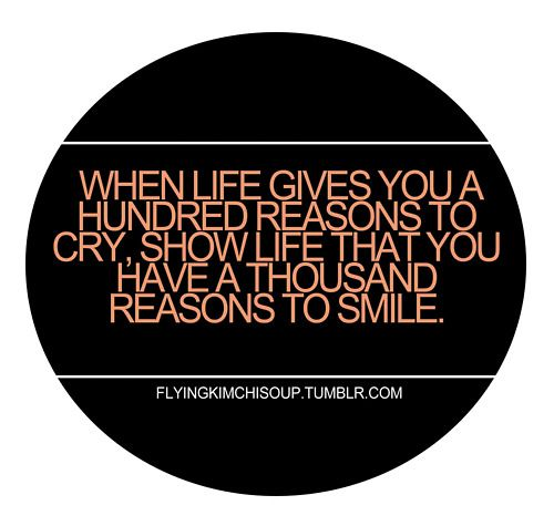 . . . thousand reasons to smile