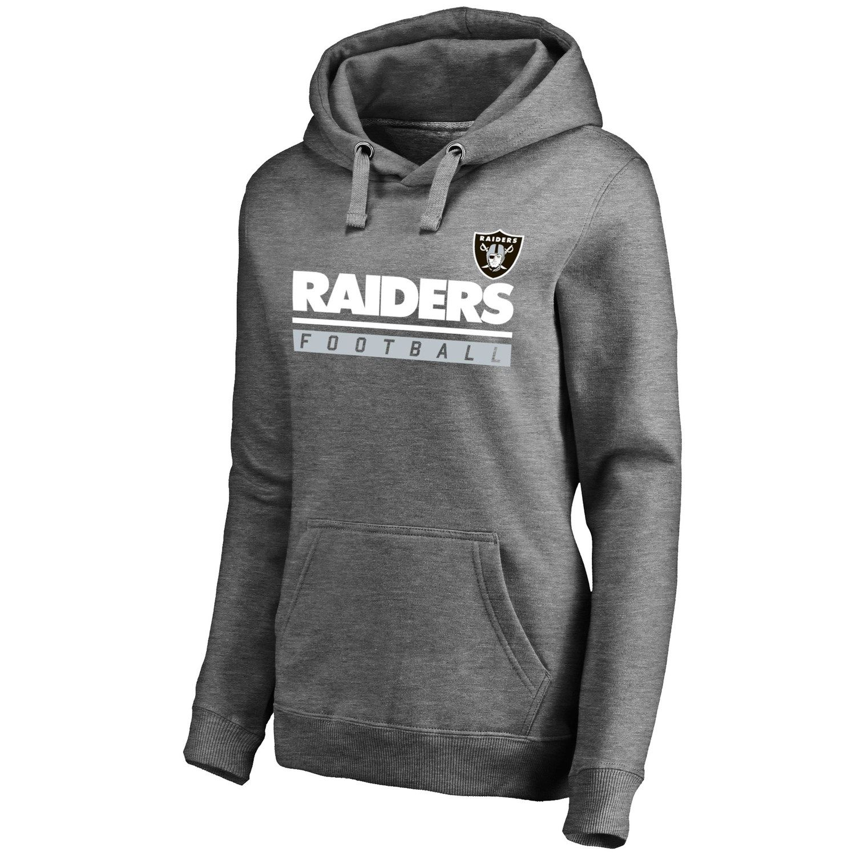Womens majestic oakland raiders self determination hoodie