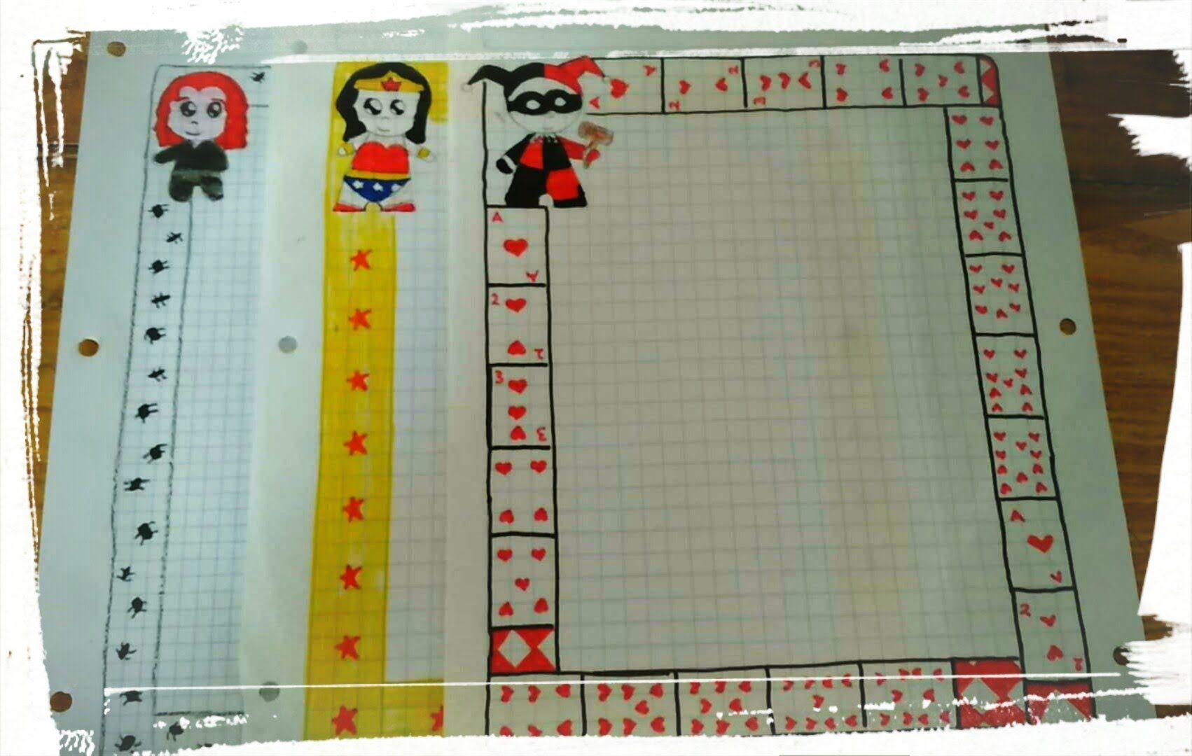 Ideas De MÁrgenes Para Decorar Cuadernos Y Libretas: Margenes Kawaii Para Tus Cuadernos /facil Y Rapido :3