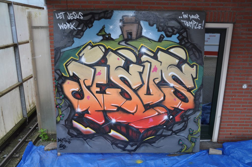 EL BLOG DE MARCELO libros y videos cristianos Nuevos graffitis
