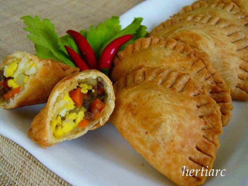 Resep Pastel Goreng Enak Food Tapas Recipes Tasty Dishes
