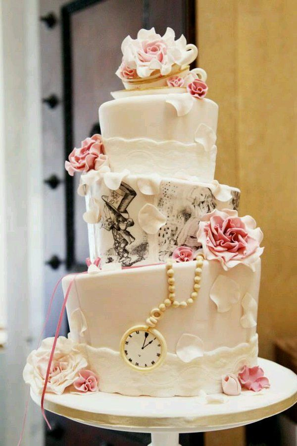 Disney-Themed Cakes Will Bring Some Magic To Your Wedding ...