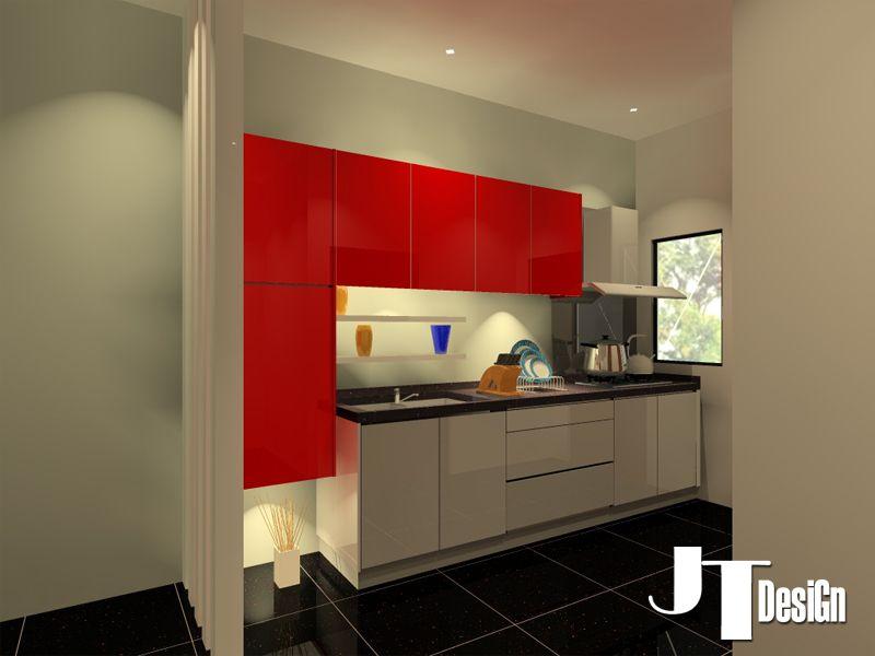 Acrylic Kitchen Cabinet Design - 2 | 3D Kitchen Cabinet Design ...