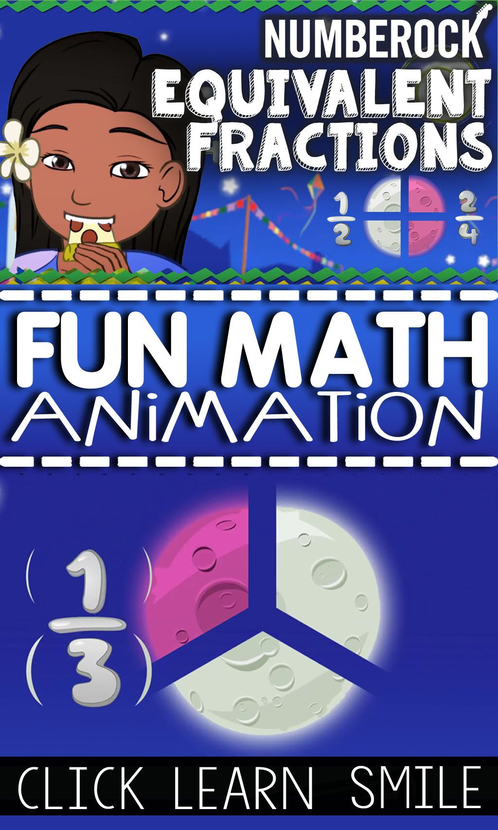 Equivalent Fractions Worksheet Game Amp Animated Video
