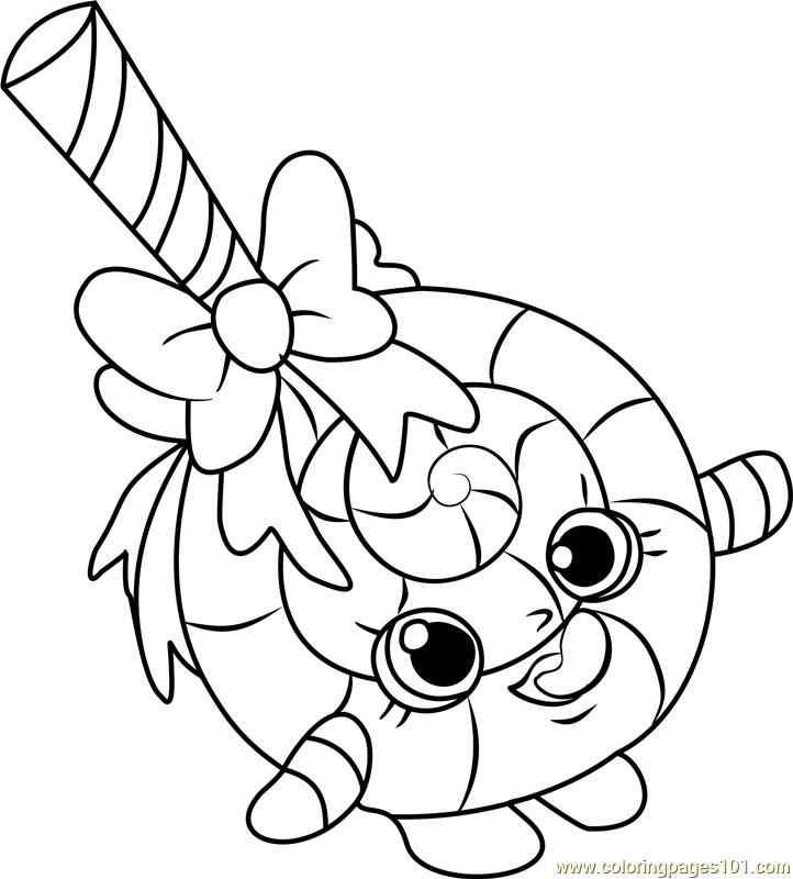 Lolli Poppins Shopkins Coloring Page Shopkins Colouring Pages Coloring Pages Toddler Coloring Book