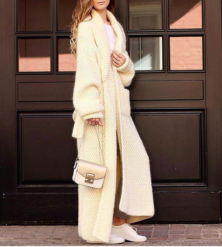 Пальто в клетку с цельнокроеным рукавом фото дом престижном