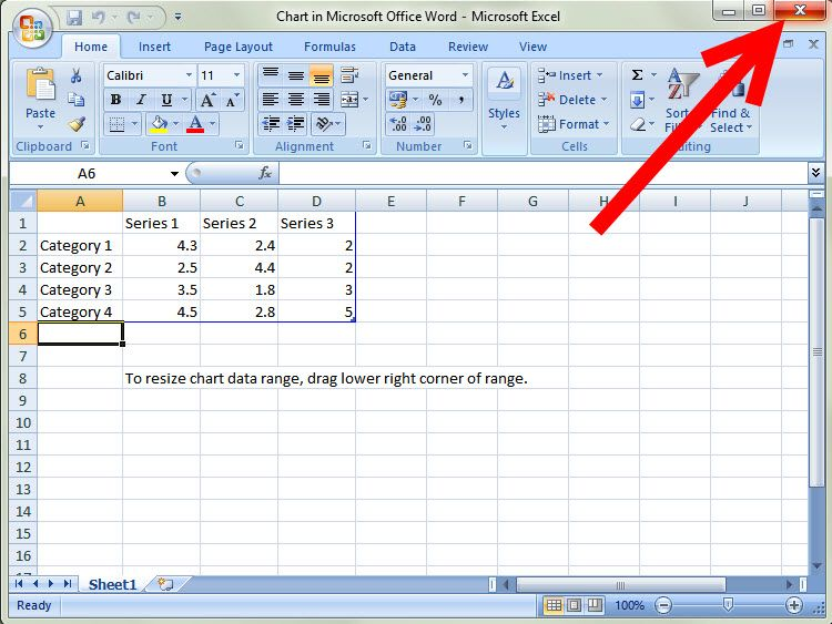 Construct A Graph On Microsoft Word 2007
