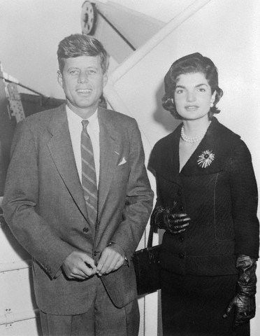 JFK and Jackie, 1955.