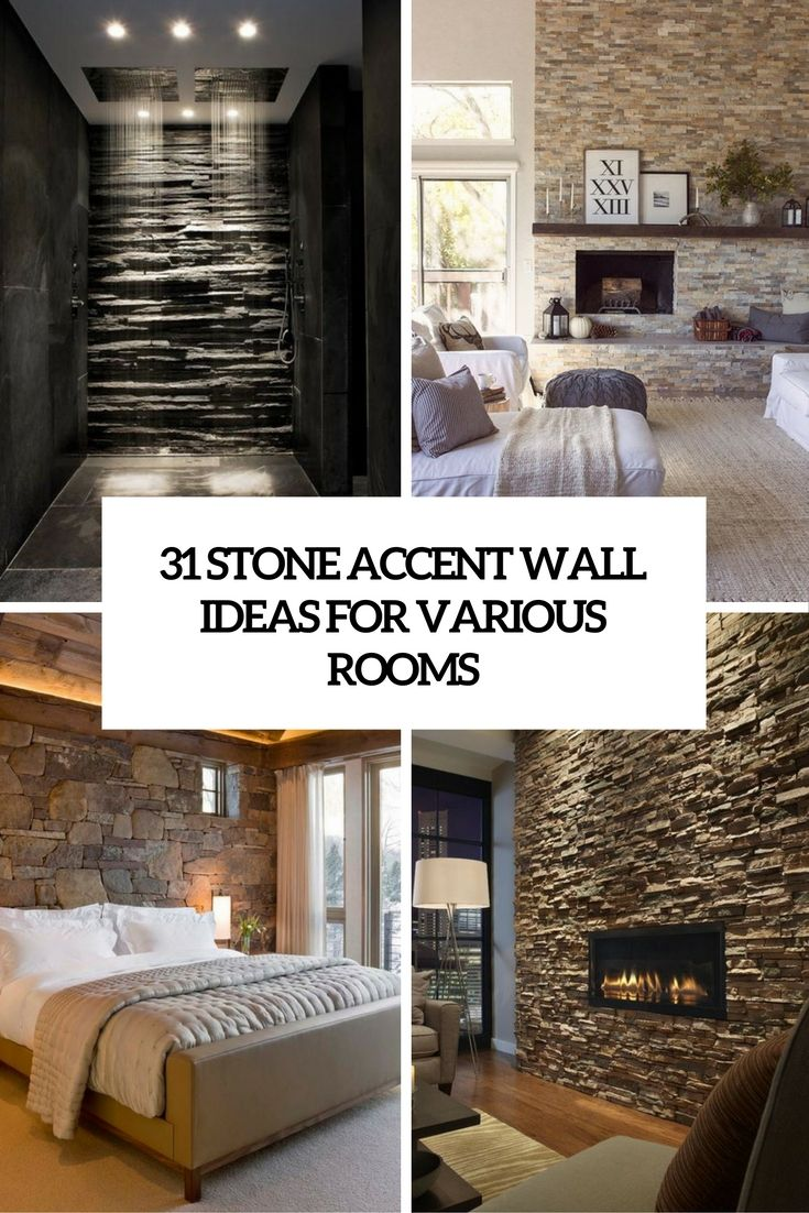 31 stone accent wall ideas for various rooms digsdigs on accent wall ideas id=98073