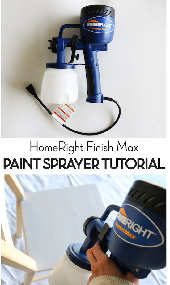 Homeright Finish Max Paint Sprayer Tutorial Painting