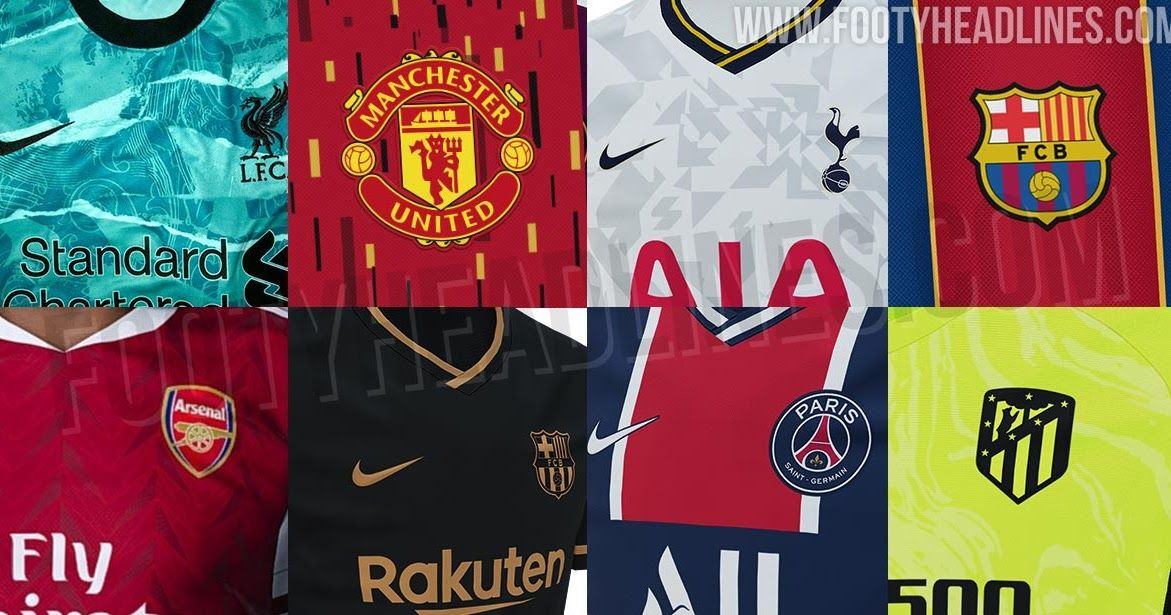 All New Football Kits And Boots Exclusive Leaks All Football Kit Releases And Leaks Ahead Of The In 2020 Manchester United Away Kit Football Kits Borussia Dortmund