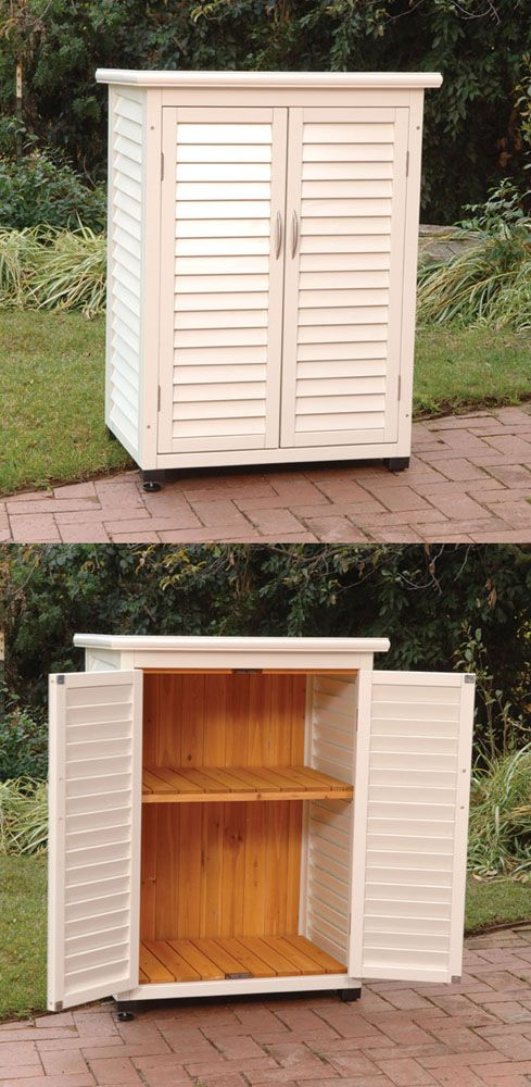 Country Club Outdoor Storage Cabinet   Click Image To Close