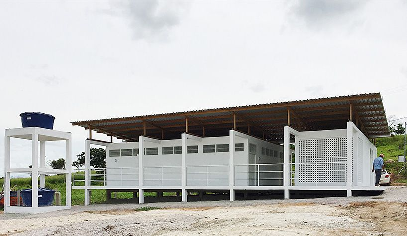 Estudio Flume Constructs A Beekeepers Workshop In Northern Brazil Architecture Rural Architecture Factory Architecture
