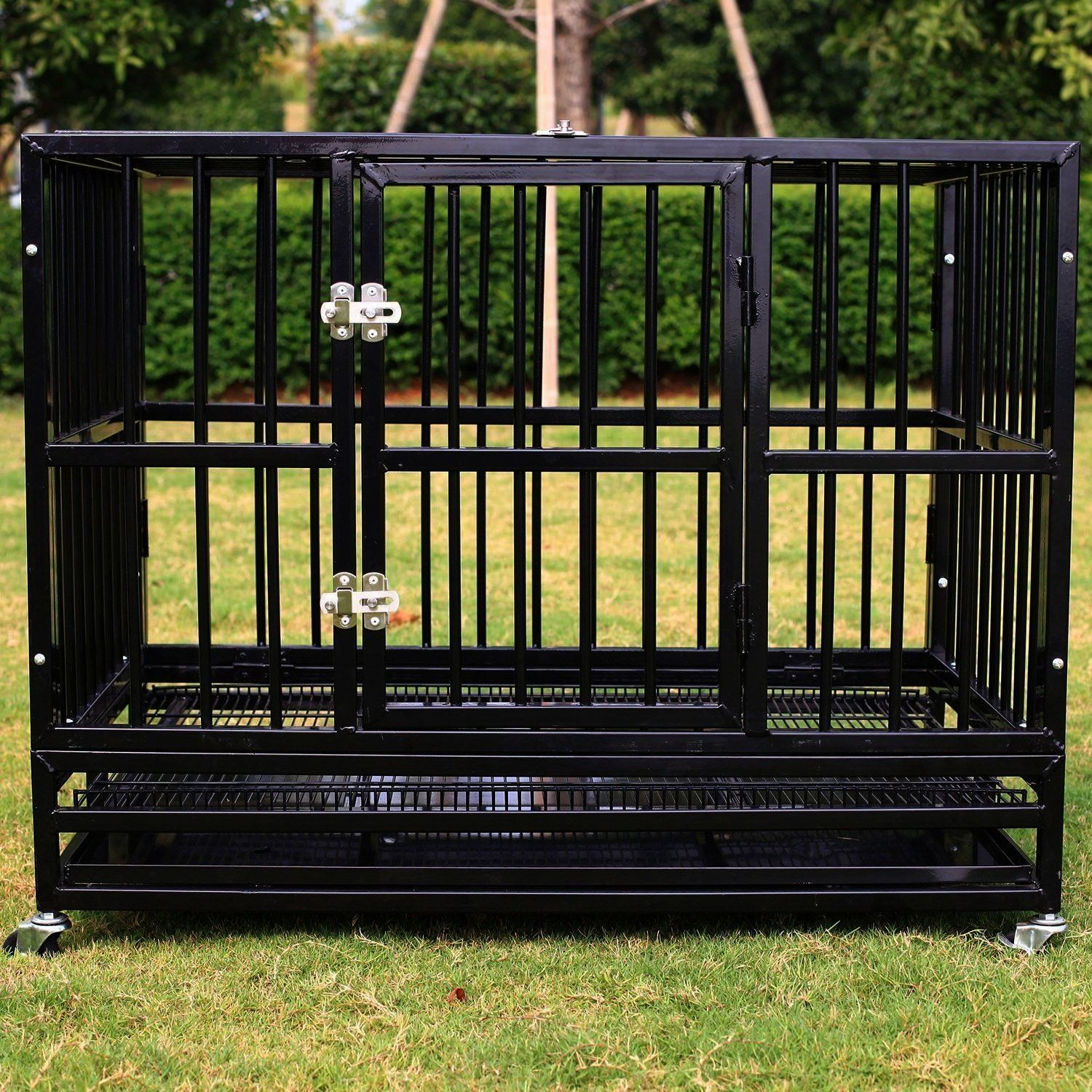 of Charge Walcut New Heavy Duty Strong Metal Pet Dog Cage Crate C   Excellent Free of Charge Walcut New Heavy Duty Strong Metal Pet Dog Cage Crate C  Excellent Free of Ch...