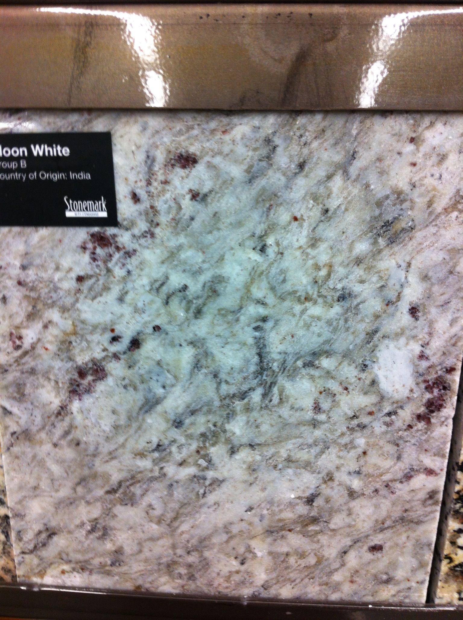 Granite white moon Home Depot group b Kitchen