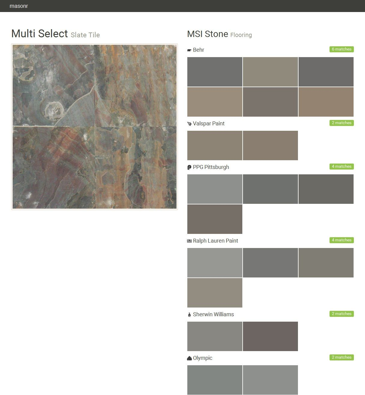 Tile Msi Stone Exterior Paint Colors For House Paint Matching Slate Tile