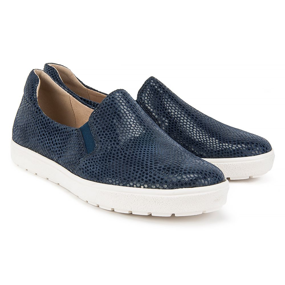 Polbuty Caprice 9 24662 28 806 Ocean Reptile Polbuty I Mokasyny Buty Damskie Filippo Pl Slip On Sneaker Shoes Sneakers