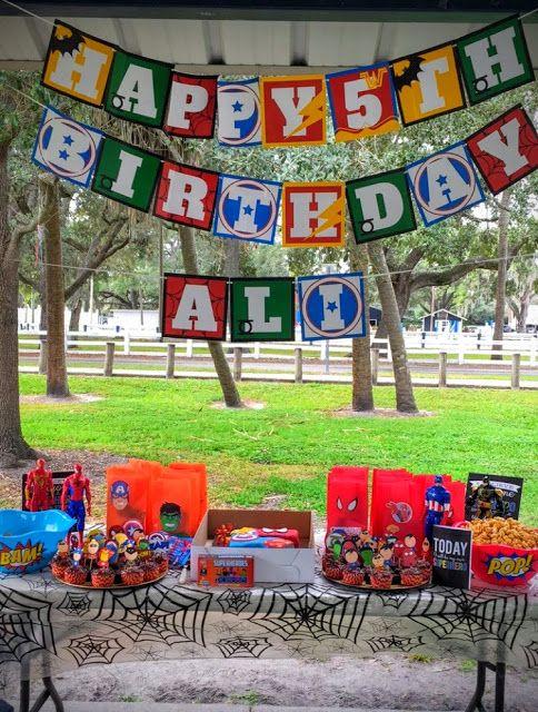 Live.. Learn.. Laugh: Ali's 5th Superhero Birthday Party!