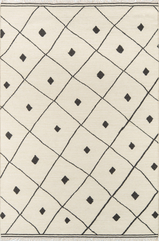 Totman Geometric Handmade Flatweave Wool Ivory Area Rug In 2021 Area Rug Collections Wool Area Rugs Rugs