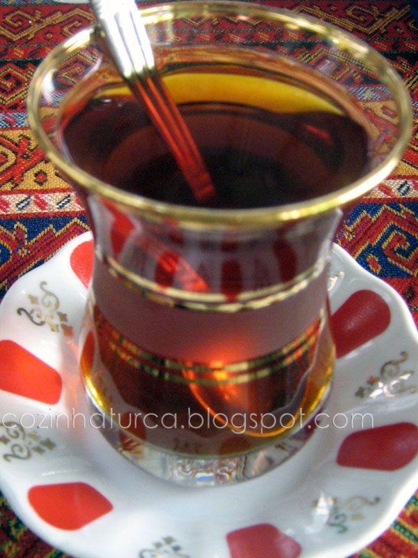 Cozinha Turca: Chá Turco (Türk Çayı)