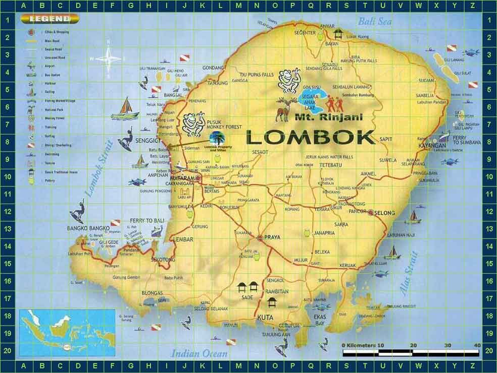 Lombok indonesia lombok map indonesia lost luggage n lombok lombok indonesia lombok map indonesia gumiabroncs Gallery