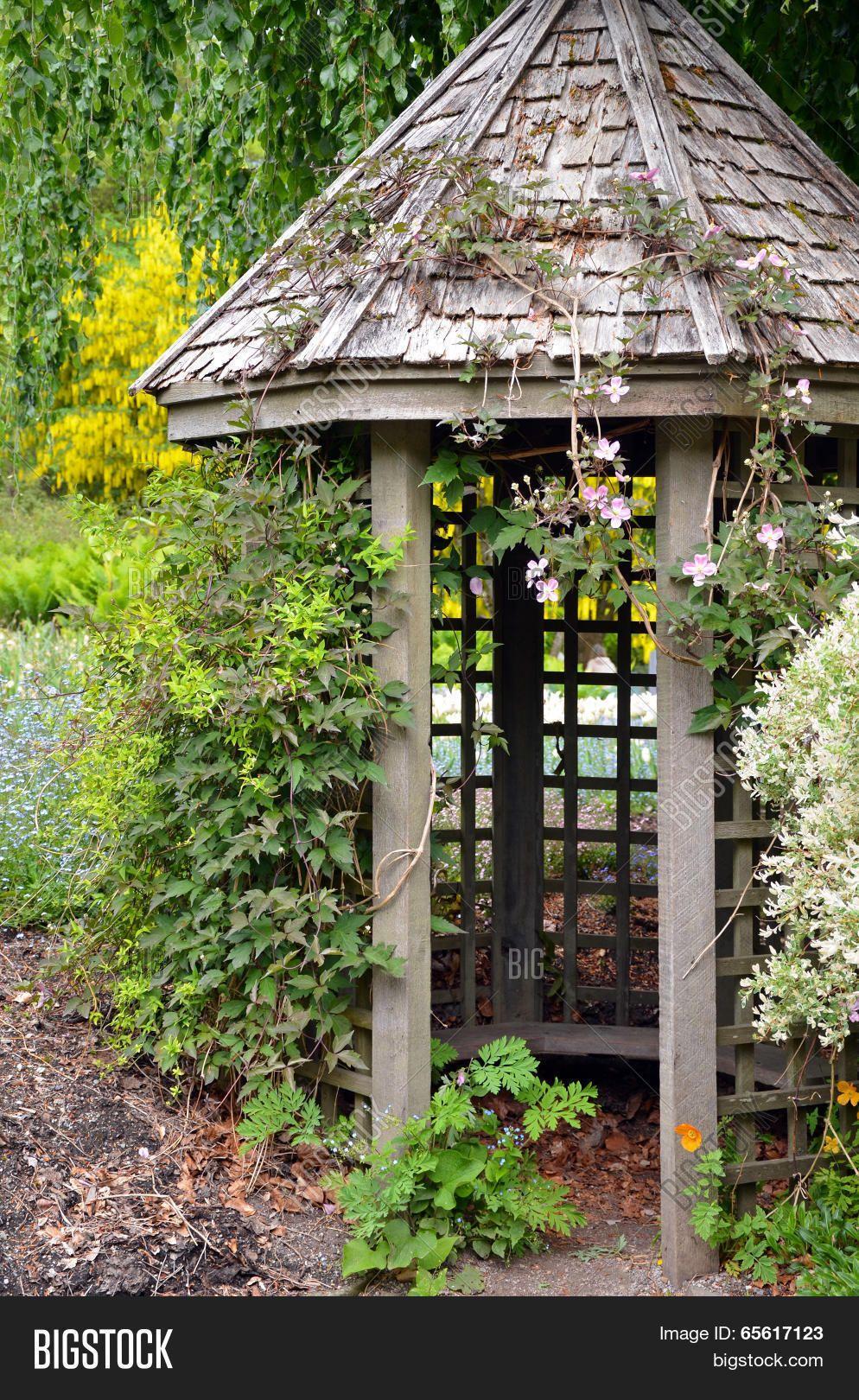 Old Wooden Garden Gazebo Wooden Garden Gazebo Garden Gazebo
