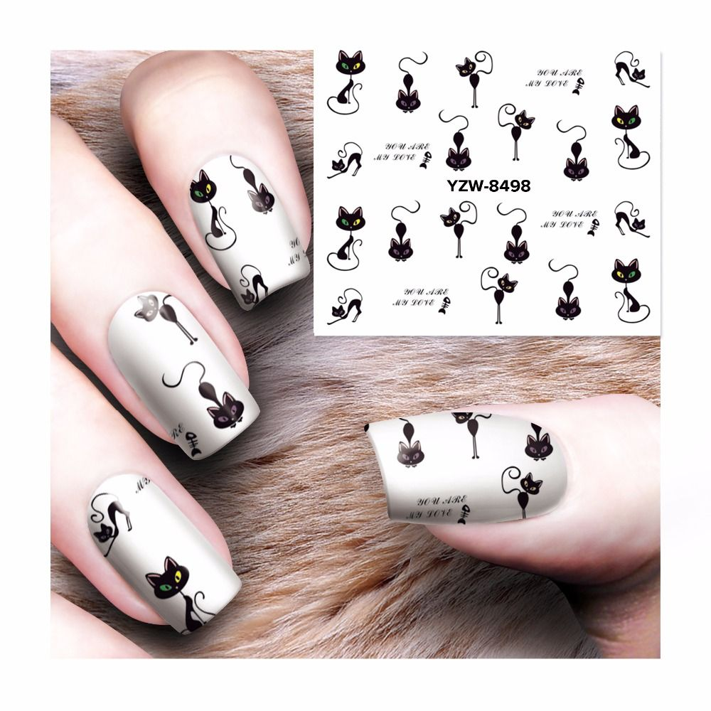 Easy to use and long lasting How to use this nail sticker? 1.Trim ...